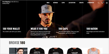Marketplace developed in Shopify to buy and sell custom t-shirts